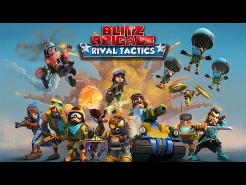 Blitz Brigade Rival Tactics Gameplay Review Online Multiplayer Android