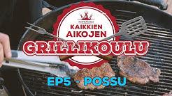 Kaikkien aikojen grillikoulu - Ep5 - Possun maustaminen ja valmistus