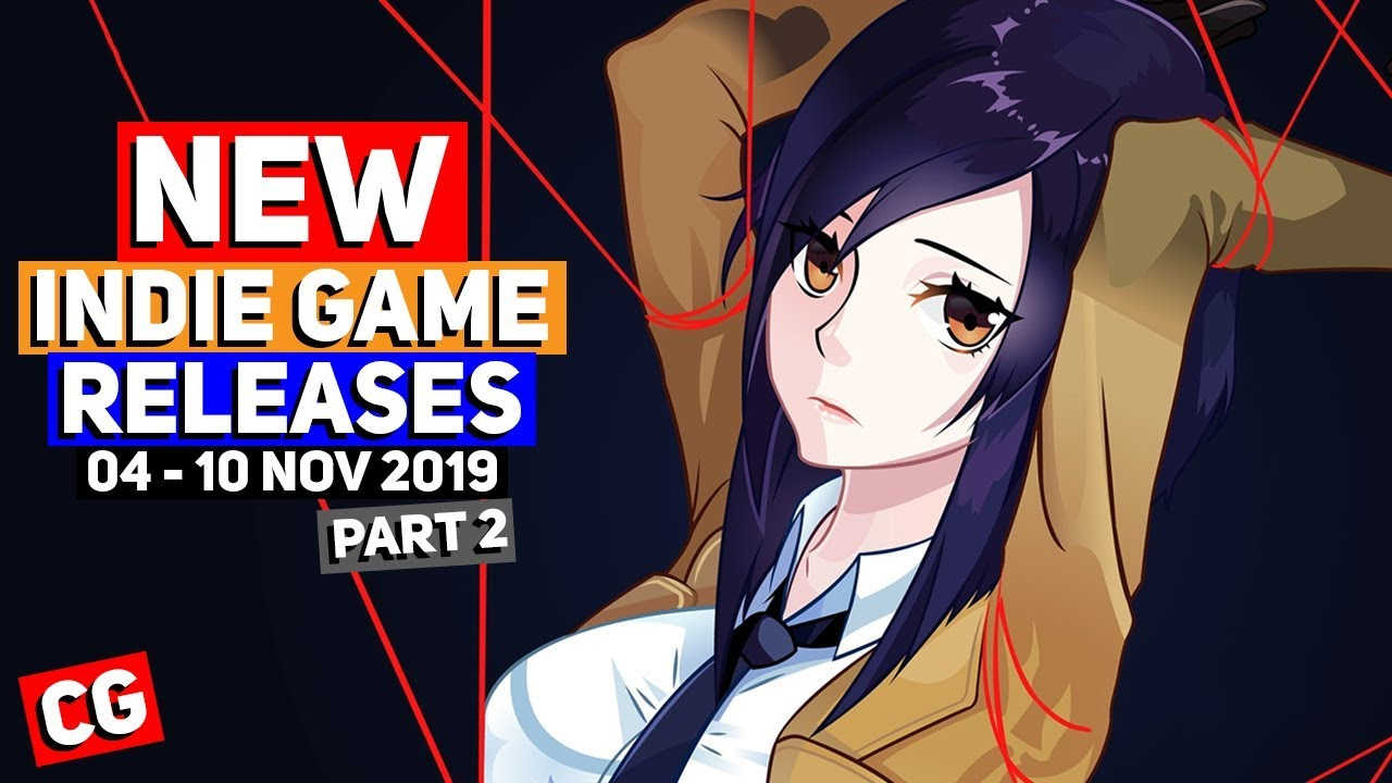 NEW Indie Game Releases: 04 - 10 Nov 2019 – Part 2 (Upcoming Indie Games)