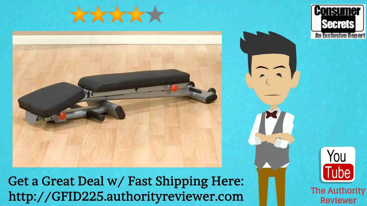 Review Amp Sale Body Solid Gfid225 Folding Adjustable
