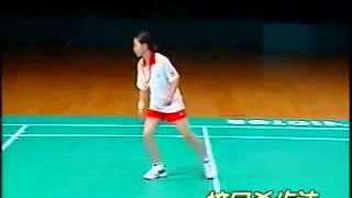 李玲蔚羽毛球2快速提高 8步伐練習
