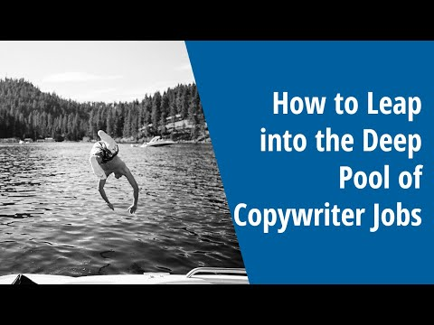 How to Leap Into the Deep Pool of Copywriter Jobs: INSIDE AWAI