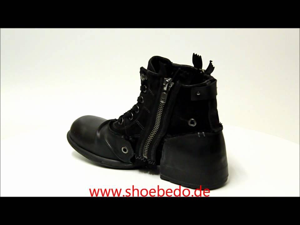 Replay Stiefel Boots Herren RU010003L Clutch Black