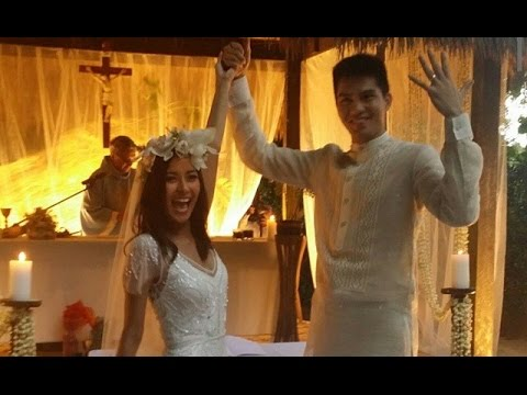 Bianca Gonzalez JC Intal Wedding