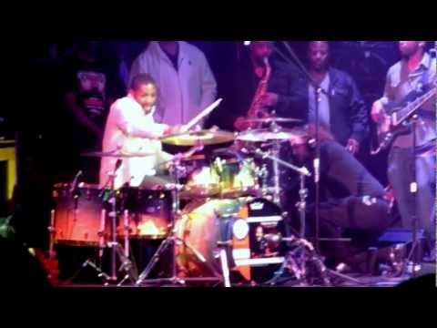 Marvin McQuitty, Jr. Benefit Concert finale at 2013 NAMM ft. Teddy Campbell on drums