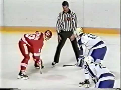 Nov.15/1986 Detroit Red Wings -Toronto Maple Leafs