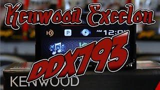 The Kenwood Excelon DDX793 multimedia radio unboxing