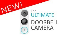 Crystal Clear Ultra-High-Definition 3MP Doorbell Camera with Incredible 180 Degree Field of View