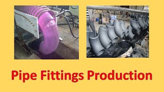 Pipe fittings production(This video about Pipe fittings production process Thanks to http://www.haoyuan-pipefittings.com For purchase Pipe fitting products(Butt Weld Pipe Fittings, ..., 2016-07-22T11:33:50.000Z)