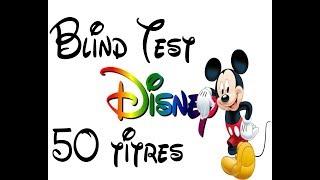 Blind Test Disney (50 titres)