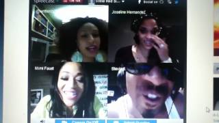 Stevie J, Joseline, & Mimi From Love & Hip-Hop Atlanta On Live Chat SUBSCRIBE MY CHANNEL