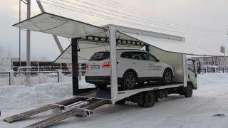 Эвакуатор с фургоном(Эвакуатор ломаного типа с фургоном для перевозки автомобилей класса «люкс». Надстройка в виде фургона..., 2016-02-01T11:10:06.000Z)