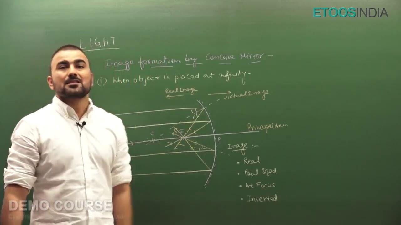 Light | NTSE | Foundation Physics Class 9th by Vijay Ola (VO) Sir | Etoosindia
