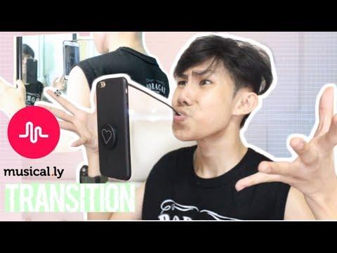 MUSICAL.LY TRANSITION TUTORIAL ( FLOATING PHONE) | AIRPLANE MODE TRANSITION | RenielReyesTV