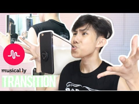 MUSICAL.LY TRANSITION TUTORIAL ( FLOATING PHONE) | AIRPLANE MODE TRANSITION | RenielReyesTV
