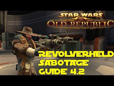 SWTOR Revolverheld Sabotage Guide - Patch 4.2