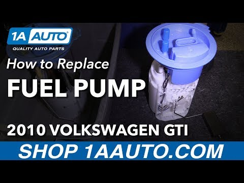 How to Replace Fuel Pump Sending Unit 08-14 Volkswagen GTI