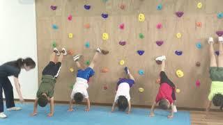 兵庫県尼崎市武庫之荘のボクシング&スポーツジムBMCで 子ども体操教...