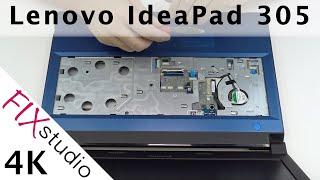 Lenovo IdeaPad 305-15 - disassemble [4K]