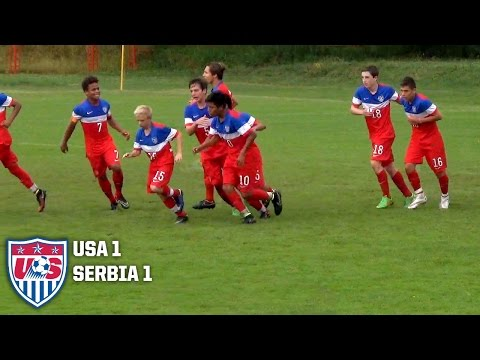 U-14 BNT vs. Serbia: Highlights - May 25 2015