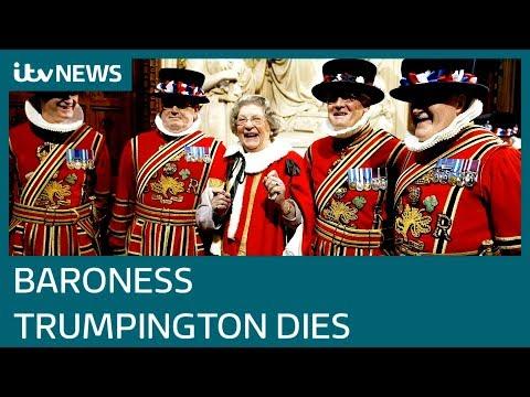 Baroness Trumpington dies aged 96 | ITV News