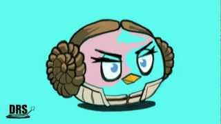 How to draw Pink bird (angry birds star wars) by davide ruvolo speedpainter!!