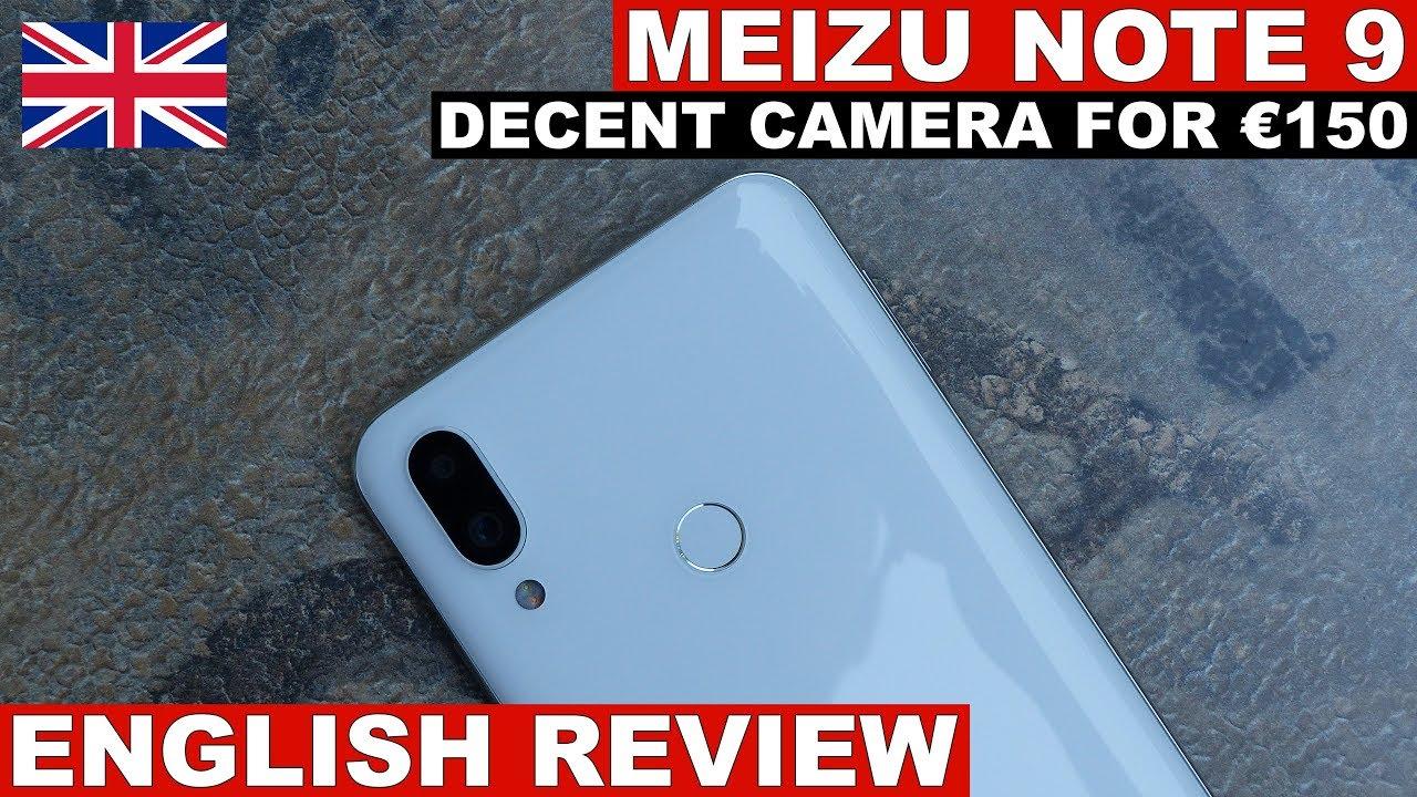 Meizu Note 9  - Budget Camera Phone