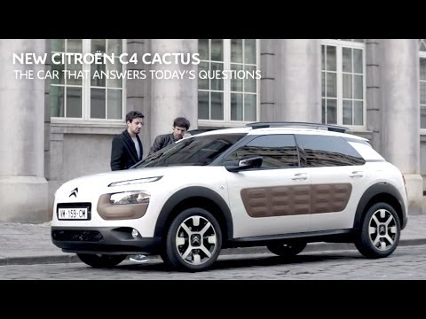 The New Citroen C4 Cactus Tv Commercial Youtube