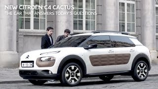 The New Citroën C4 Cactus - TV Commercial