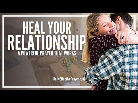 relationship restoration prayer