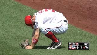 2012/06/07 Harper hurts back