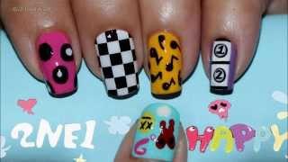 2NE1 투애니원 HAPPY Nail Art