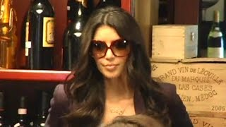 The Kardashians Filming Their Reality Show At Cuvee Wine