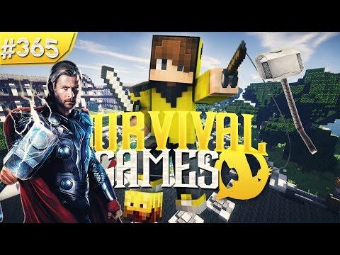 THOR CHALLENGE MARATHON FAİL! (Minecraft : Survival Games #365) w/IsmetRG