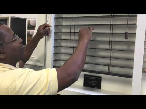 Custom Wood Blinds With Smart Privacy