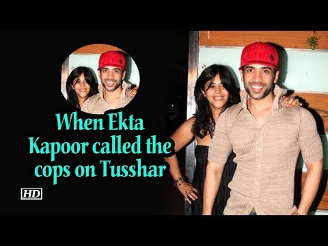 When Ekta Kapoor called the cops on Tusshar Mp3