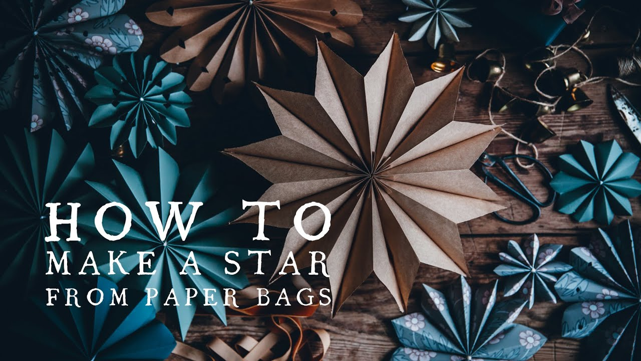 make: paper star garland (as seen in Marie Claire) ‹ Sewyeah | 720x1280