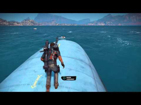 Just Cause 3 Trick And Tips The Cargo Plane
