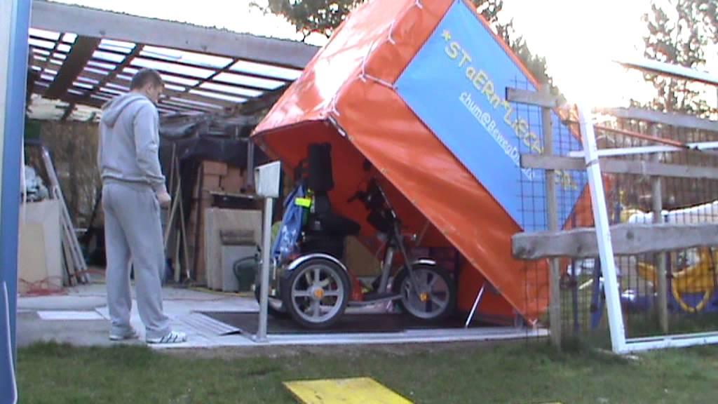 Motorradgaragen von Planen Krämer / Rollstuhlgarage in der Schweiz ...