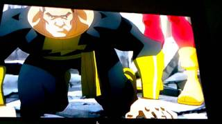 Superman and captain marvel vs black adam
