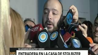 Video: Habla uno de los hijos de Stolbizer tras la entradera - Telefe Noticias