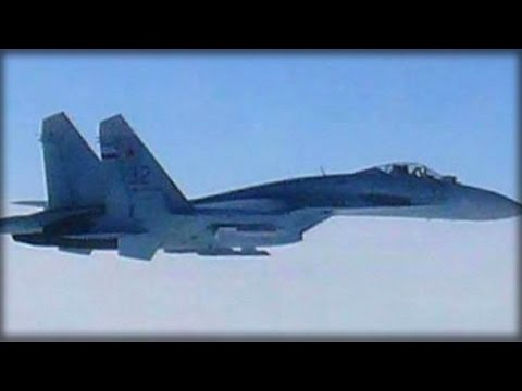 BREAKING: RUSSIAN FIGHTER JET MAKES ALARMING MOVE