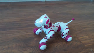 Zoomer интерактивная собака робот(, 2016-01-17T15:59:22.000Z)