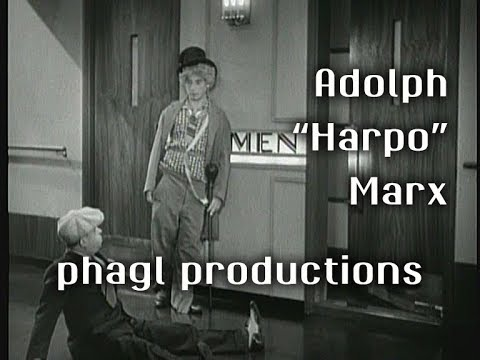 The Wonderful Pantomime of Harpo Marx