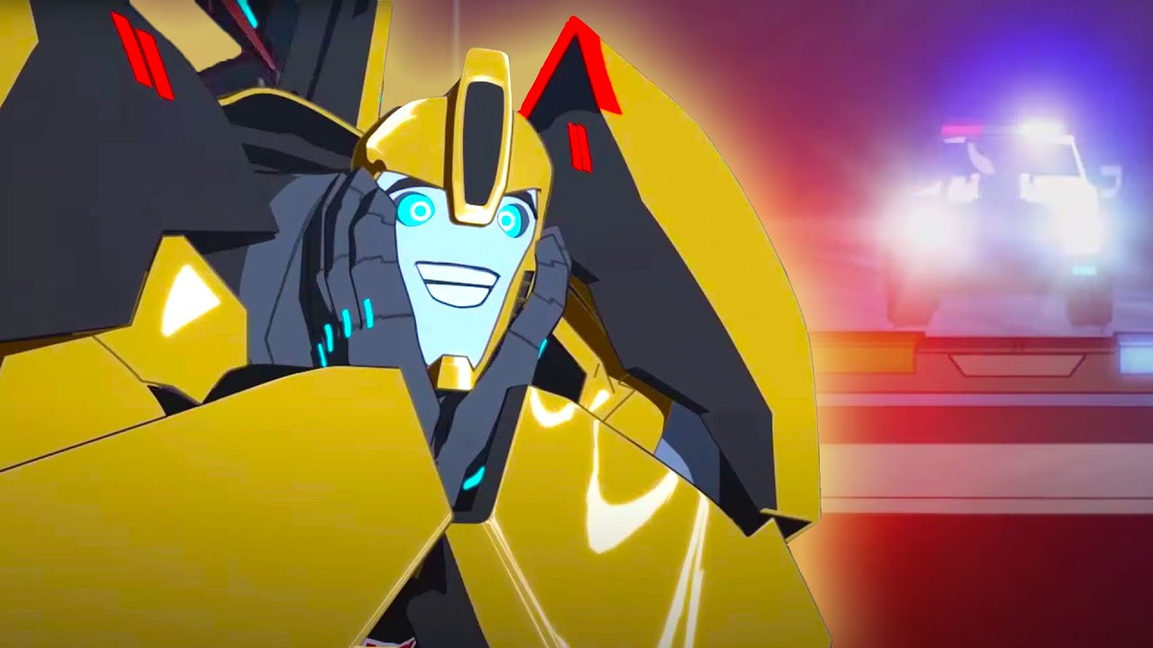 Baby Bumblebee 🚕 Robots in Disguise 2015   Transformers Official