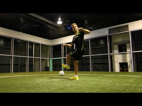 Enter the Footbonaut: the soccer skill machine