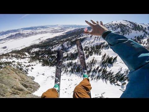 GoPro: Marshall Miller's Birthday Ski BASE Jump