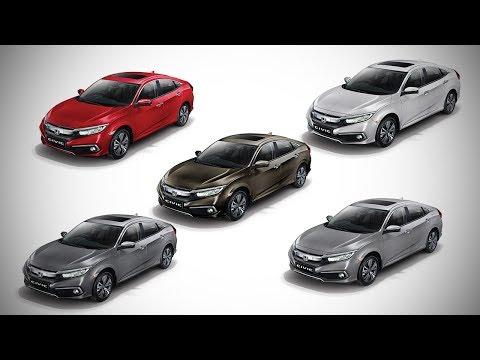 Honda Civic All Colours - Images   AUTOBICS
