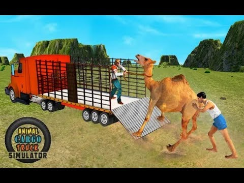 ► Zoo Animals Transport - Off-road Animal Truck Simulator 2018  Animal Cargo Truck Simulator