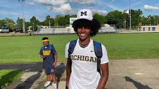 Andrel Anthony Breaks Down Commitment To Michigan Wolverines Football